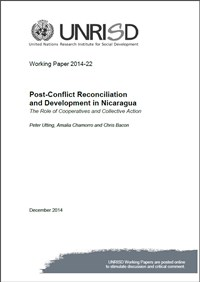 Post-Conflict Reconciliation and Development in Nicaragua: The Role of Cooperatives and Collective Action