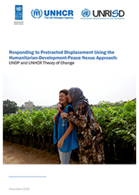 Responding to Protracted Displacement Using the Humanitarian-Development-Peace Nexus Approach: UNDP and UNHCR Theory of Change
