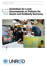 Guidelines for Local Governments on Policies for Social and Solidarity Economy