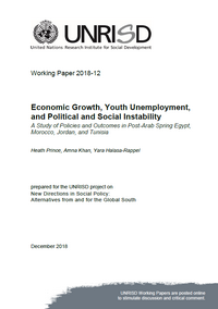 Economic Growth, Youth Unemployment, and Political and Social Instability: A Study of Policies and Outcomes in Post-Arab Spring Egypt, Morocco, Jordan, and Tunisia