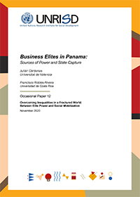 Business Elites in Panama: Sources of Power and State Capture