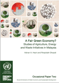 A Fair Green Economy? Studies of Agriculture, Energy and Waste Initiatives in Malaysia