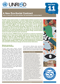 A New Eco-Social Contract: Vital to Deliver the 2030 Agenda for Sustainable Development