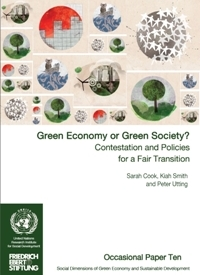 Green Economy or Green Society? Contestation and Policies for a Fair Transition