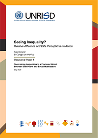 Seeing Inequality? Relative Affluence and Elite Perceptions in Mexico