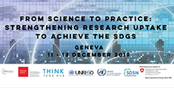 From Science to Practice: Strengthening Research Uptake to Achieve the SDGs