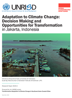 Adaptation to Climate Change: Decision Making and Opportunities for Transformation in Jakarta, Indonesia