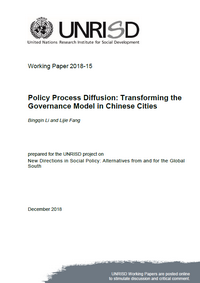 Policy Process Diffusion: Transforming the Governance Model in Chinese Cities
