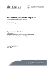 Environment, Health and Migration: Towards a More Integrated Analysis
