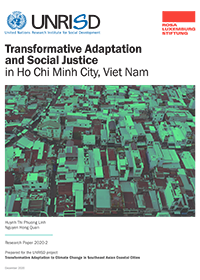Transformative Adaptation and Social Justice in Ho Chi Minh City, Viet Nam