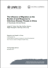 The Influence of Migration on the Burden of and Response to Infectious Disease Threats in China: A Theoretically Informed Review