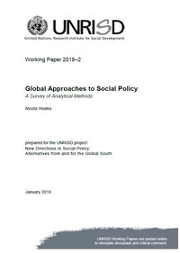 Global Approaches to Social Policy: A Survey of Analytical Methods